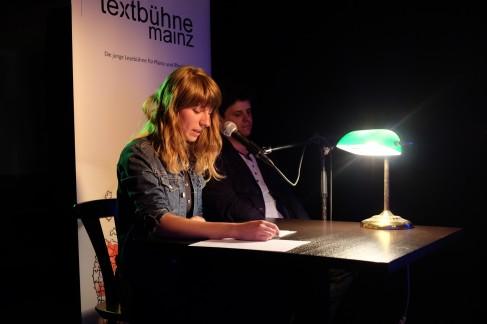 Kalina Mladenova, Eric Merz - Textbühne #12 - Foto: Christian Simon